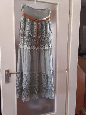Made in Italy Maxi Skirt khaki