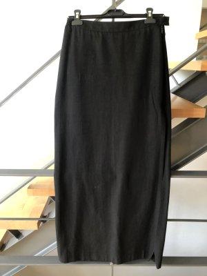 Costume National Maxi gonna nero Viscosa