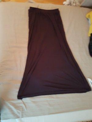 H&M Maxi Skirt blackberry-red