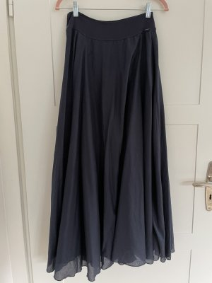 Replay Falda larga azul oscuro