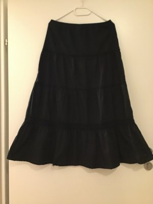 Biaggini Maxi Skirt black polyester