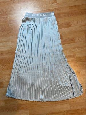Elias Rumelis Plisowana spódnica jasnoszary-srebrny