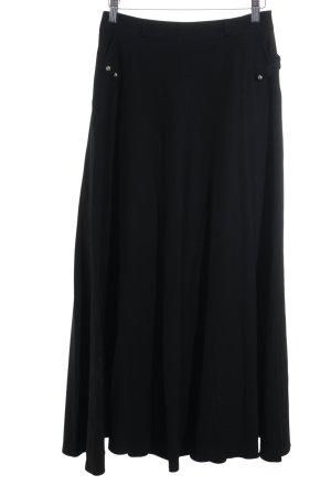 Maxirock schwarz Elegant