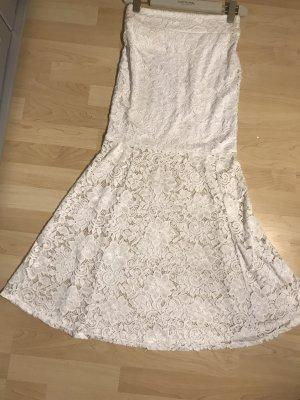 Spódnica maxi biały