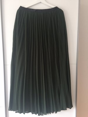 Abercrombie & Fitch Jupe longue vert foncé