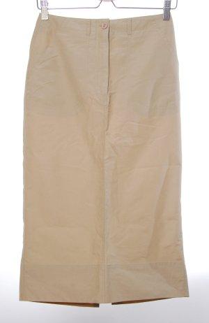 Street One Maxi Skirt sand brown cotton