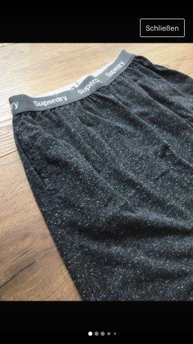 Superdry Falda larga gris-gris oscuro