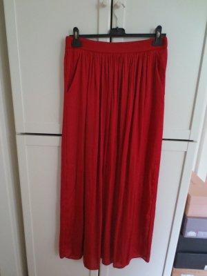 Zara Woman Jupe longue rouge