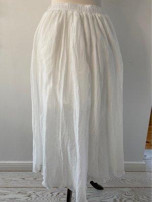 Spódnica z koła biały Bawełna