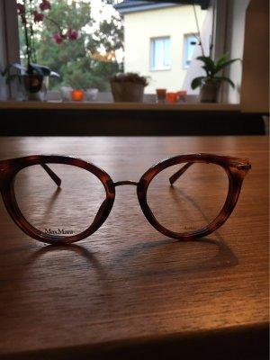 Max Mara Gafas coñac-marrón-negro