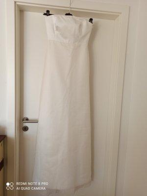 Max Mara Suknia ślubna w kolorze białej wełny