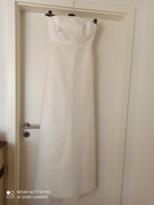Max Mara Vestido de novia blanco puro