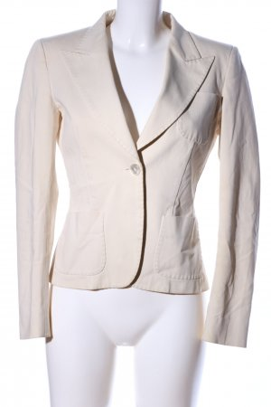 Max Mara Jerseyblazer wollweiß Business-Look
