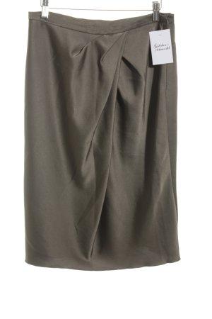 Max Mara Mini rok groen-grijs zakelijke stijl