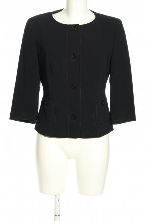 MaxMara Weekend Kurz-Blazer schwarz Casual-Look