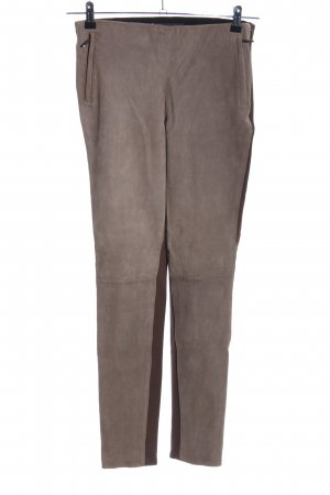MaxMara Weekend Leggings braun-wollweiß Casual-Look
