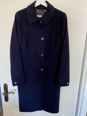 Weekend Max Mara Wool Coat dark blue-blue