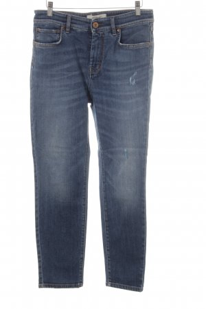 MaxMara Weekend Straight-Leg Jeans dunkelblau Casual-Look