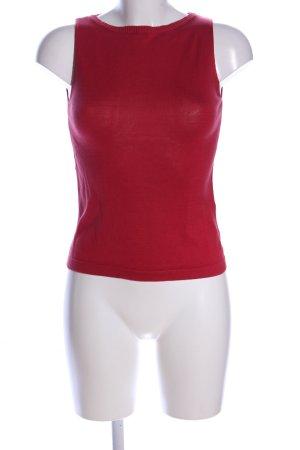MaxMara Weekend Haut tricotés rouge style décontracté