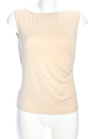 MaxMara Weekend Camiseta sin mangas crema look casual