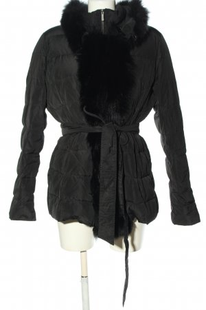 MaxMara Weekend Winterjacke schwarz Steppmuster Casual-Look