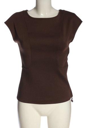 MaxStudio T-Shirt brown casual look