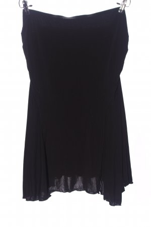 MaxStudio Midi Skirt black casual look