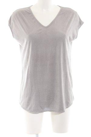 MaxStudio T-Shirt hellgrau Casual-Look