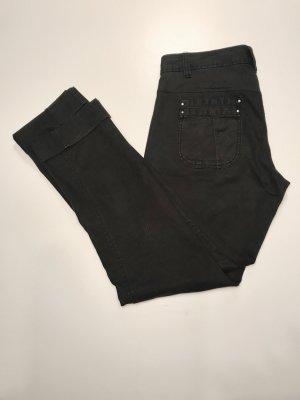 Maxx-Jeans schwarz,Herbst-Look ,guter Look mit Reiterstiefeln