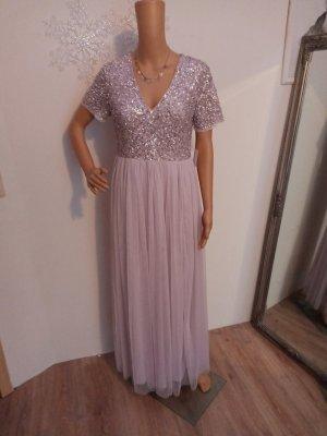 Maya Deluxe Abendkleid rose 40 neu