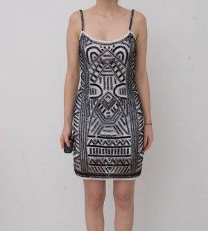 MAYA Petite Pailletten/Perlen-Kleid XXS 32 gekauft bei ASOS