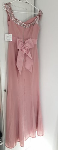 Maya Tall ballkleid jungfraukleid maxi kleid 36 rosa