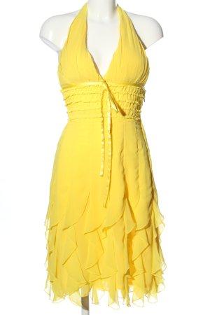 Mayaadi Robe empire jaune primevère élégant