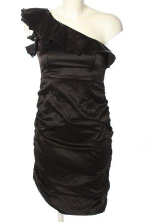Mayaadi One-Shoulder-Kleid schwarz Elegant