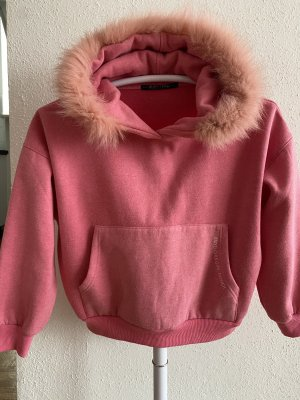 Mayo Chix Jersey con capucha rosa