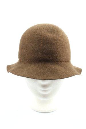 Mayser 1833 Sombrero de fieltro marrón elegante