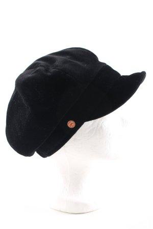 MAYSER Ballonmütze schwarz Casual-Look