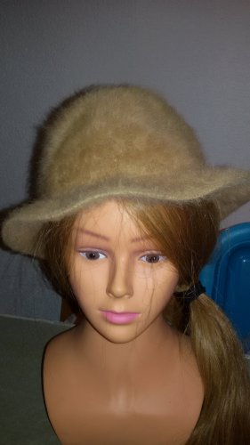 Mayser 1833 Bowler Hat sand brown-light brown