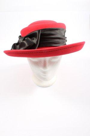 MAYSER Felt Hat red-black elegant