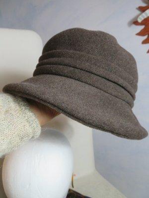 MAYSER Cappello cloche marrone-grigio-marrone chiaro Lana