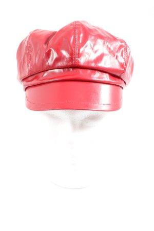 MAYSER Cappello con visiera rosso stile casual