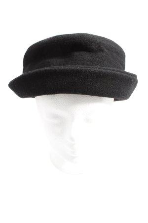 MAYSER Cappello di lana nero stile casual