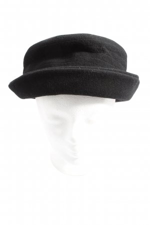 MAYSER Wollen hoed zwart casual uitstraling