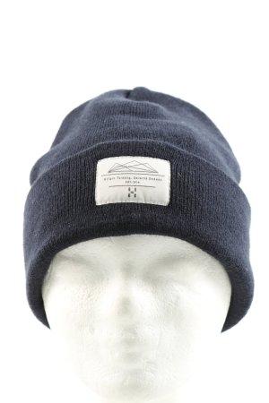 Maze Sombrero de punto azul look casual