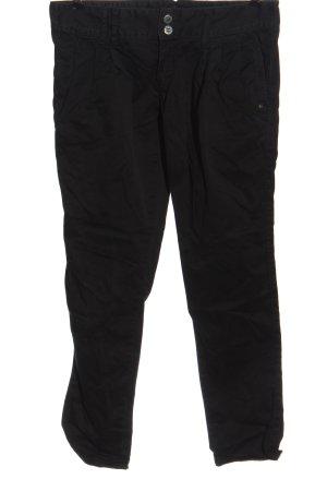 Mazine Pantalone a vita bassa nero stile casual