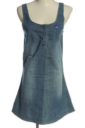 Mazine Jeansowa sukienka niebieski W stylu casual