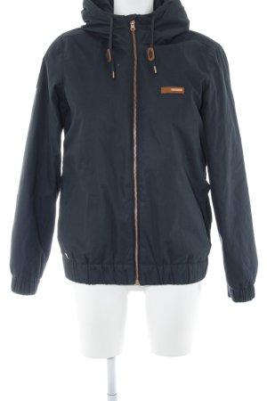 Mazine Kapuzenjacke dunkelblau-roségoldfarben Casual-Look