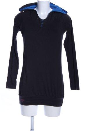 Mazine Koszulka z kapturem niebieski W stylu casual