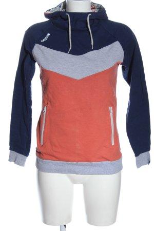 Mazine Bluza z kapturem Melanżowy W stylu casual