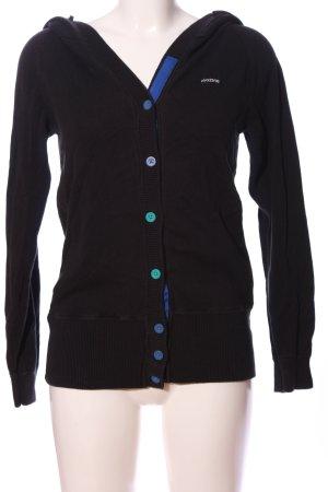 Mazine Kapuzensweatshirt schwarz Casual-Look